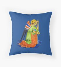 Gothic Angel #2 - Isolated Throw Pillow