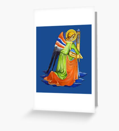 Gothic Angel #2 - Isolated Greeting Card
