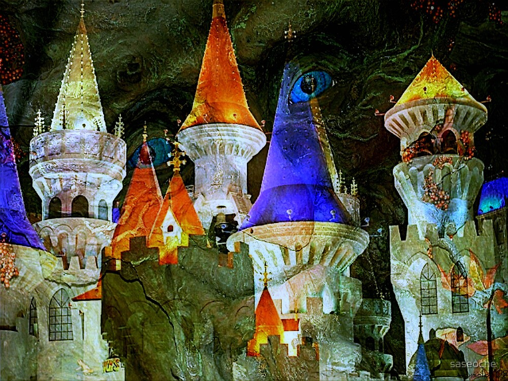 Witch Castle by saseoche