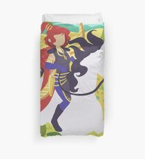Her Noble Steed Duvet Cover