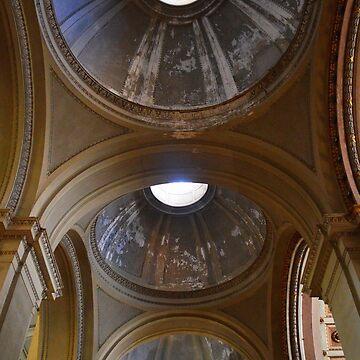 Enna Cathedral Ceiling. Sicily, Italy by IgorPozdnyakov