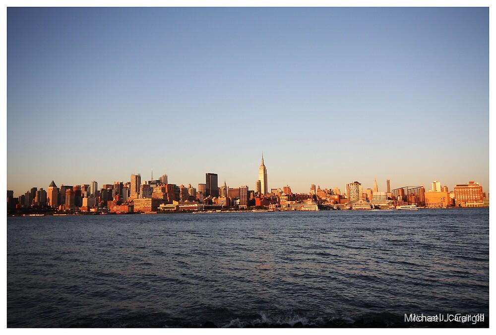 NY Skyline by Michael J. Cargill
