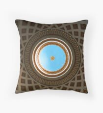 Mosta Dome from Inside, Mosta, Malta Throw Pillow