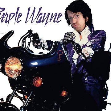 Purple Wayne by shanghaijinks
