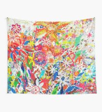multicolors flowers Wall Tapestry
