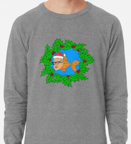 Festive Jeff Goldfish Lightweight Sweatshirt