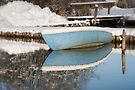 Winter Boating Blues by Kasia-D