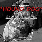 Hound Dog retro poster by David Lee Thompson
