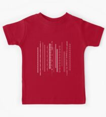 Crazy lace on red Kids Clothes