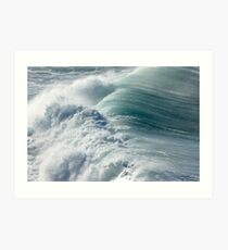 The Power of the Sea Art Print