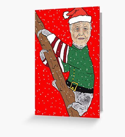 Festive Sir Sloth Greeting Card