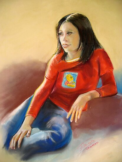 Pastel Portrait of Hannah by Shirlroma