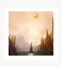 Skyrim scenery  Art Print
