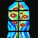 A Window of Drouin Anglican Christ Church, Gippsland by Bev Pascoe