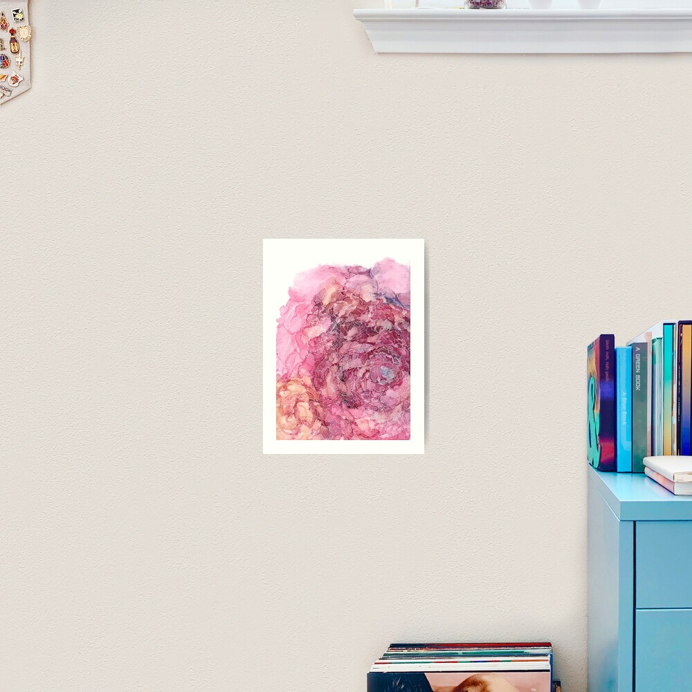 Rosy Outlook Art Print