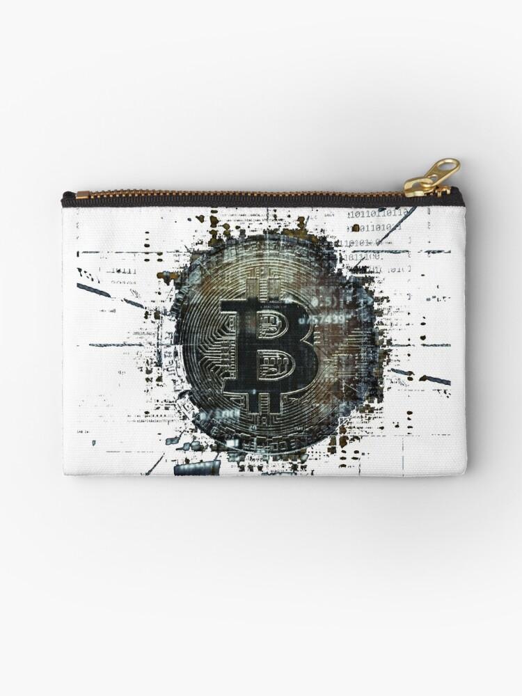 Bitcoin T-Shirt  Geschenk Krypto Internetgeld  von gdimido