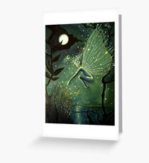 Crystal Water Sprite Greeting Card