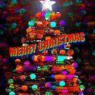 Christmas tree card  by David Lee Thompson