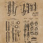 Clarinet Group of Patents  by MadebyDesign