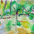 Trumper Park Duck Pond by John Douglas