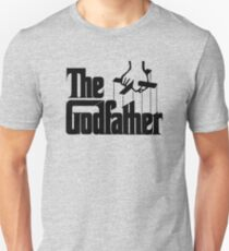 The Godfather Artwork, Posters, Prints, Tshirts, 1972 Movie For Men, Women, Kids Slim Fit T-Shirt