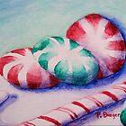 Minty Christmas Candy by Pamela Burger