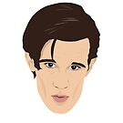 Matt Smith as Doctor Who  by gregs-celeb-art