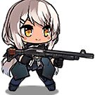 Girls' Frontline - M950 by VinoBurrito