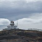 The old light at Cape Spear by Jean Knowles