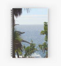 Natural Framing Spiral Notebook