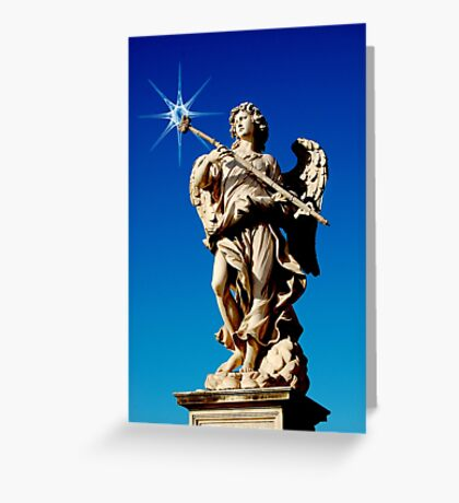 Roman Angel #3 Greeting Card