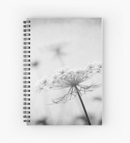 AFE Queen Anne's Lace Nature Photography Spiral Notebook