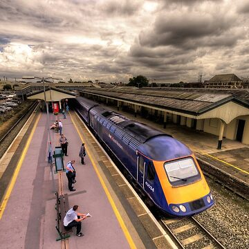 Chippenham Station by hawkie