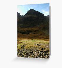 Dark Peak Greeting Card
