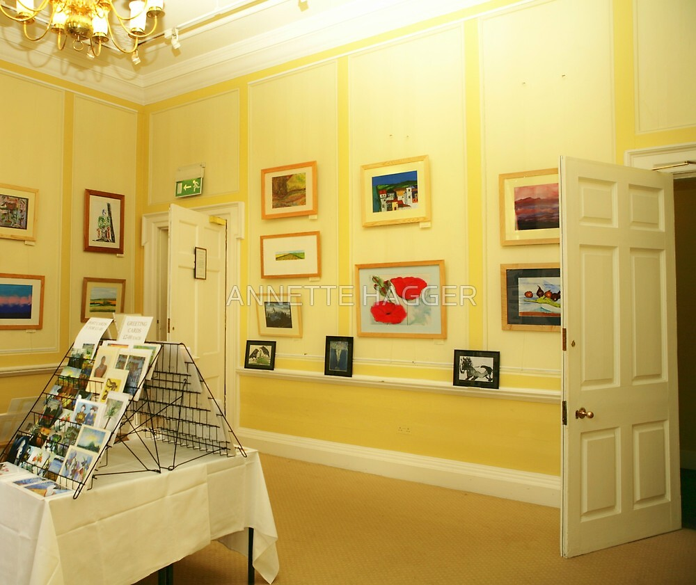 My Solo Exhibition- Assembly House, Norwich Norfolk by ANNETTE HAGGER