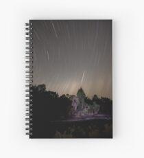 Stars Race Across The Sky Spiral Notebook