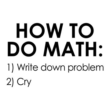 How to Do Math by DJBALOGH