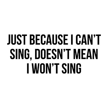 I Can't Sing by DJBALOGH