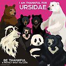 «Estoy agradecido por Ursidae» de PepomintNarwhal