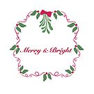 Merry and Bright Wreath by Sheri42
