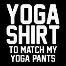 Yoga Shirt by DJBALOGH