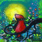 Bird II~Early Riser by Juli Cady Ryan