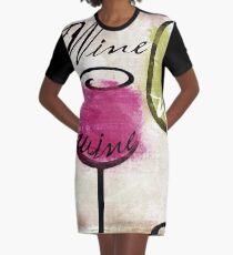 Weinprobe III T-Shirt Kleid