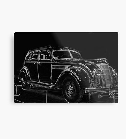 Old Car (Standard Eight) Metal Print