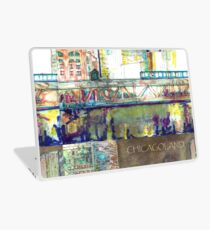 Chicago painting picture Laptop Skin