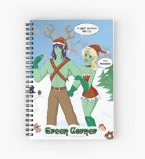 Winter Holiday Spiral Notebook