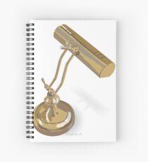 Desk Lamp Spiral Notebook