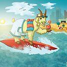 Beach Goat by Milhamah
