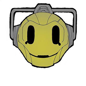 cyberman smiley by morphfix