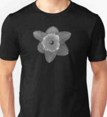 Daffodil in Black and White Unisex T-Shirt